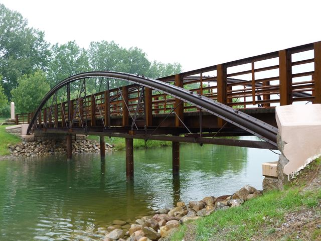 Phoenix Bowstring Truss Bridge