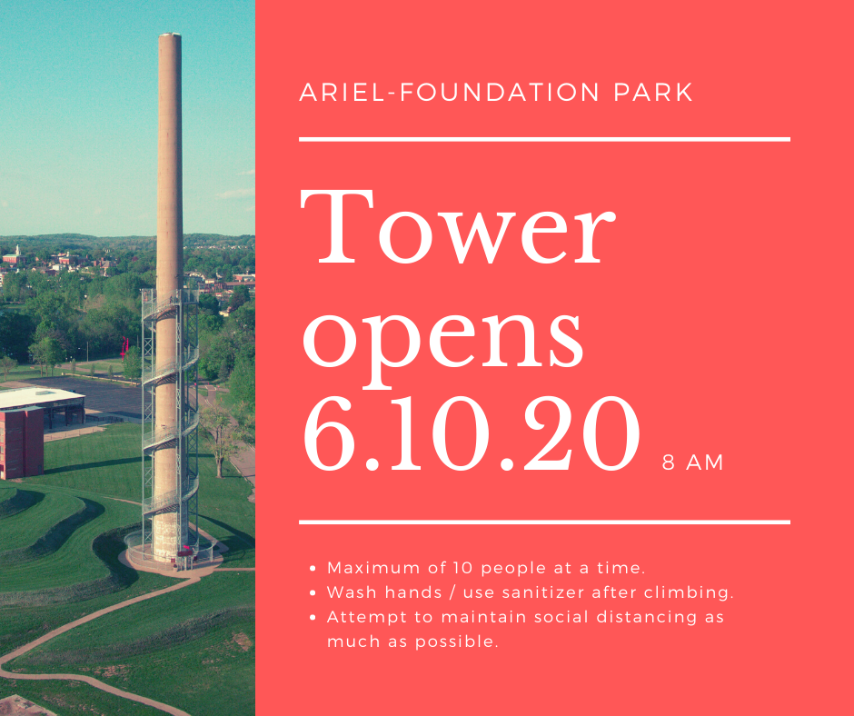 tower opens