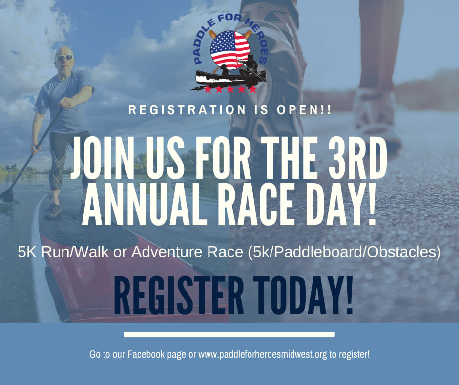Paddle for Heroes 2021 Race