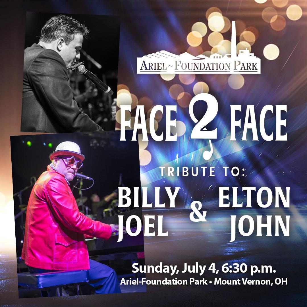 Face 2 Face Billy Joel Elton John Tribute