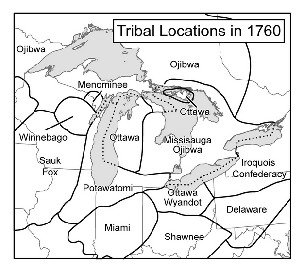 tribal locations